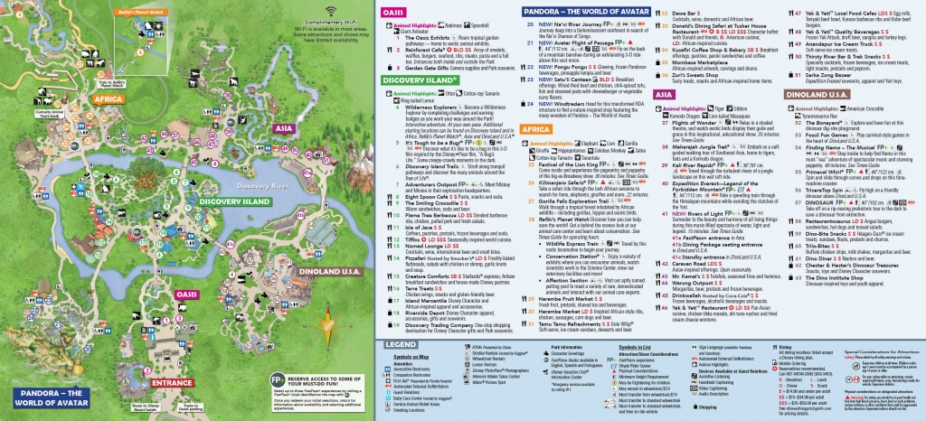 Walt Disney World 7-Day Ultimate Ticket | Disney Memory Maker Bonus! - Disney Florida Maps 2018