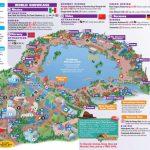 Walt Disney World Park And Resort Maps   Epcot Guidemap January 2013   Printable Map Of Epcot 2015