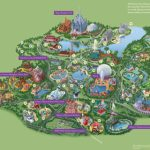 Walt Disney World® Resort Map  Wyndham Lake Buena Vista   Hotel Near   Disney Resorts Florida Map