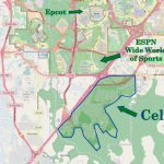 Walt Disney World Subdivision Florida Overview | Navfile   Celebration Florida Map