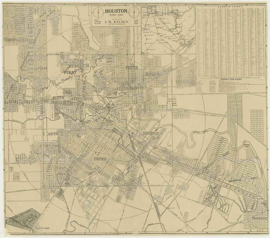 Wards Of Houston - Wikipedia - Downtown Houston Map Printable