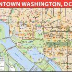 Washington, D.c. Downtown Bike Map   Printable Map Of Dc