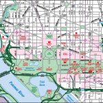 Washington, D.c. Downtown Map   Printable Map Of Downtown Dc