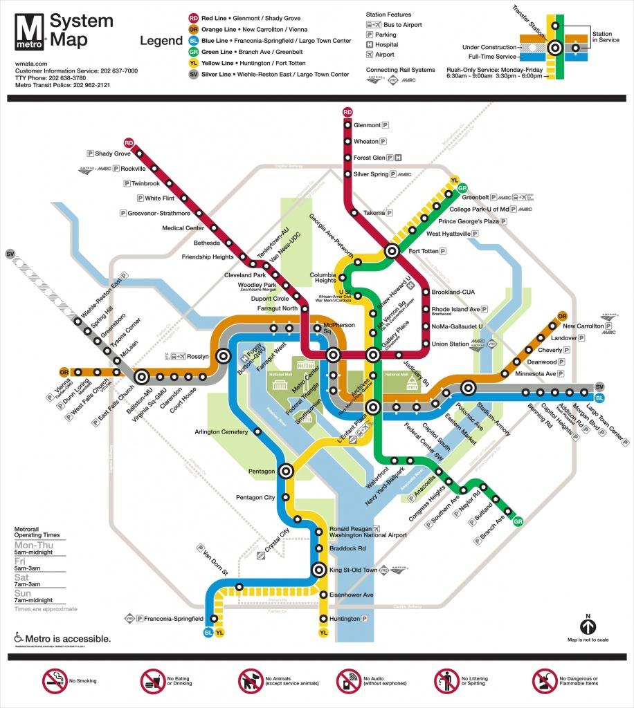 Washington, D.c. Maps   U.s.   Maps Of Washington, District Of Columbia - Free Printable Map Of Washington Dc