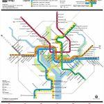 Washington, D.c. Metro Map   Printable Metro Map Of Washington Dc