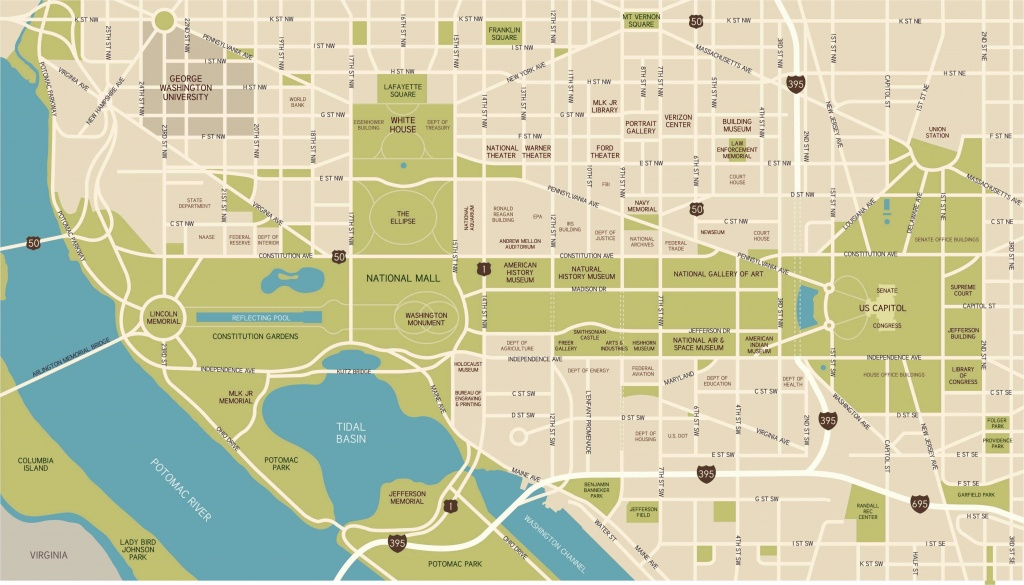 Washington, D.c. National Mall Maps, Directions, And Information - National Mall Map Printable