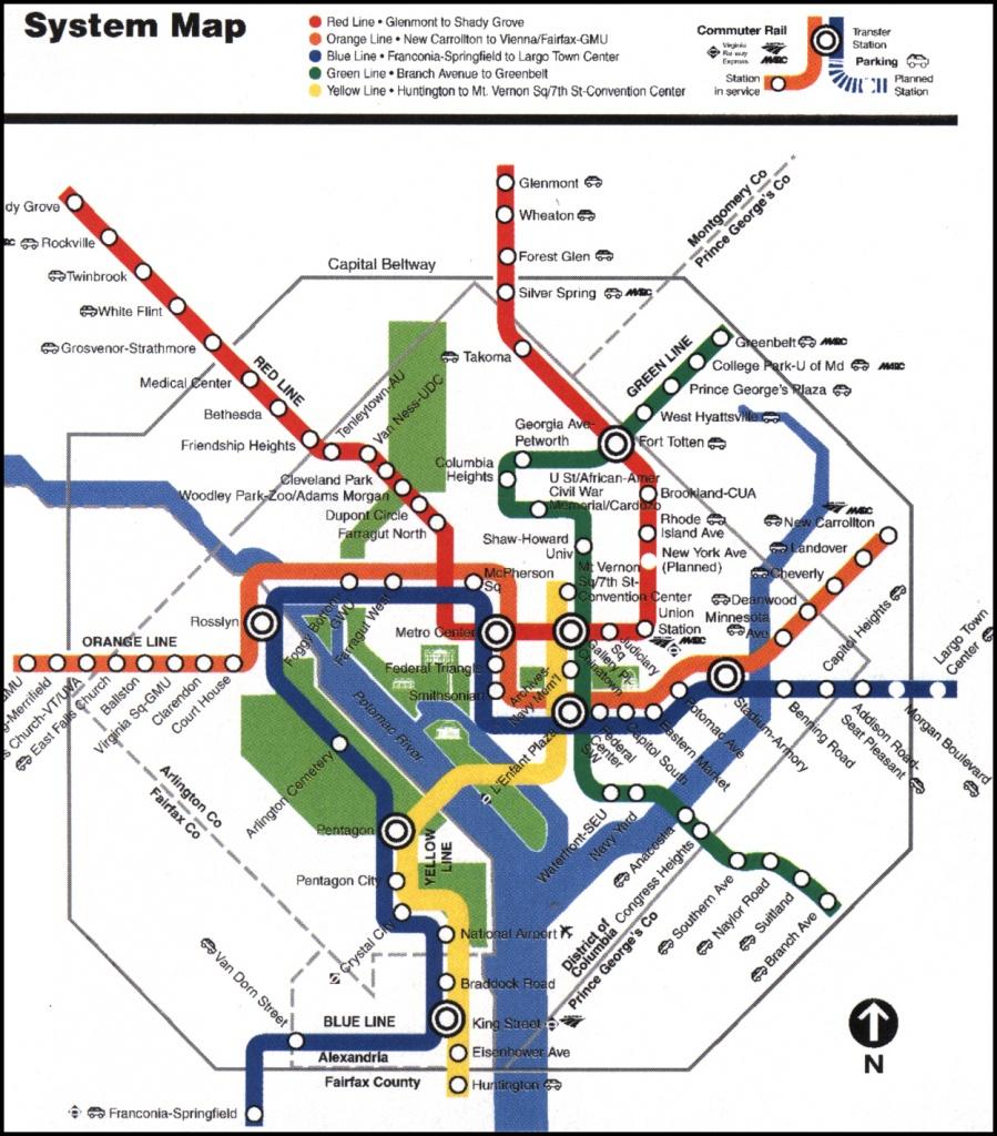 Washington Dc Map Metro Pdf Washington Dc Tourist Map Mall Pdf - Printable Metro Map Of Washington Dc