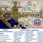 Washington Dc Tourist Map | Tours & Attractions | Dc Walkabout   Printable Map Of Washington Dc Attractions
