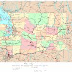 Washington Political Map   Printable Map Of Washington State