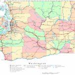 Washington Printable Map   Printable Map Of Washington State