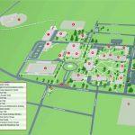 Washington University Map Us Campus Map Beautiful California   California University Of Pa Campus Map