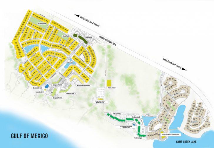 Inlet Beach Florida Map