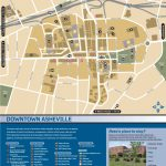 Wayfinding Downtown Map Thumbnail | Asheville, Nc | Asheville Nc Map   Printable Map Of Downtown Asheville Nc