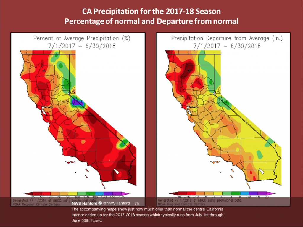 Weather & Forecast Maps Show Heat And Dry Weather In Past - Weather Heat Map California