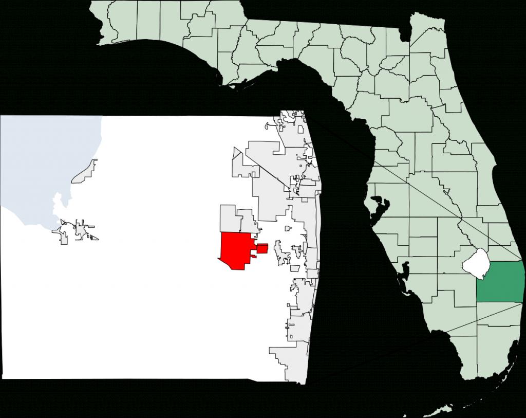 Wellington, Florida - Wikipedia - Wellington Florida Map