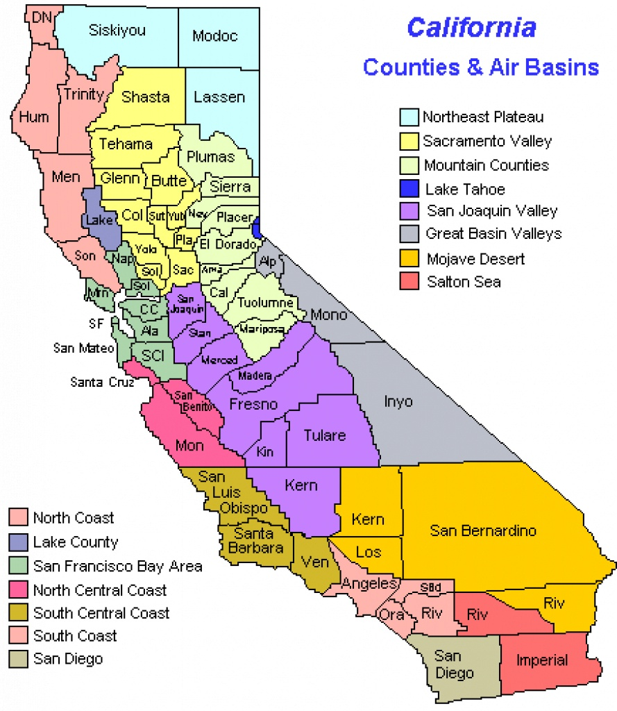 West Coast Map Of California And Travel Information | Download Free - Detailed Map Of California West Coast