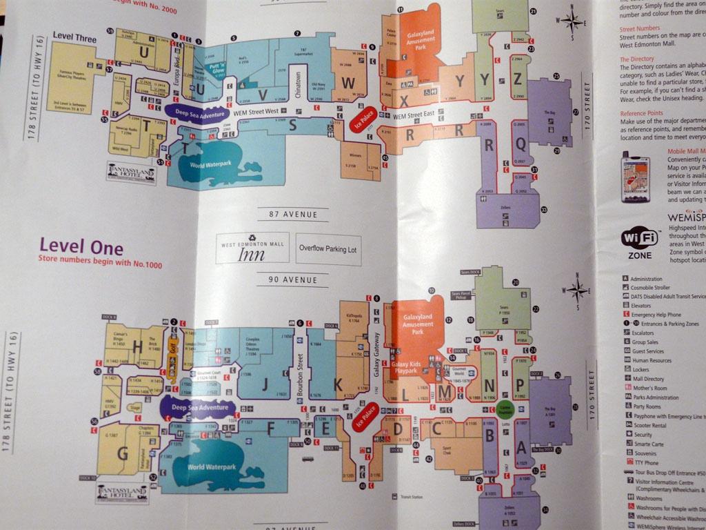 West Edmonton Mall Canada Map – Fashion Dresses - West Edmonton Mall Map Printable