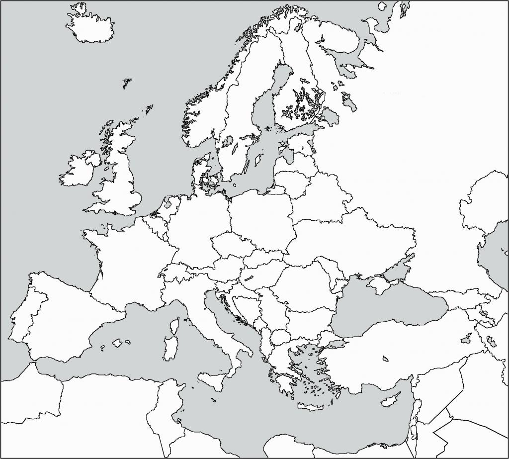 Western Europe Map Outline Best Of Blank Printable Simple Asia - Europe Outline Map Printable