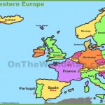 Western Europe Map   Printable Map Of Western Europe