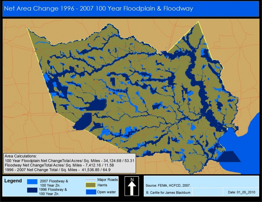 What You Need To Know About Flooding, Buying A New Home - Conroe Texas Flooding Map