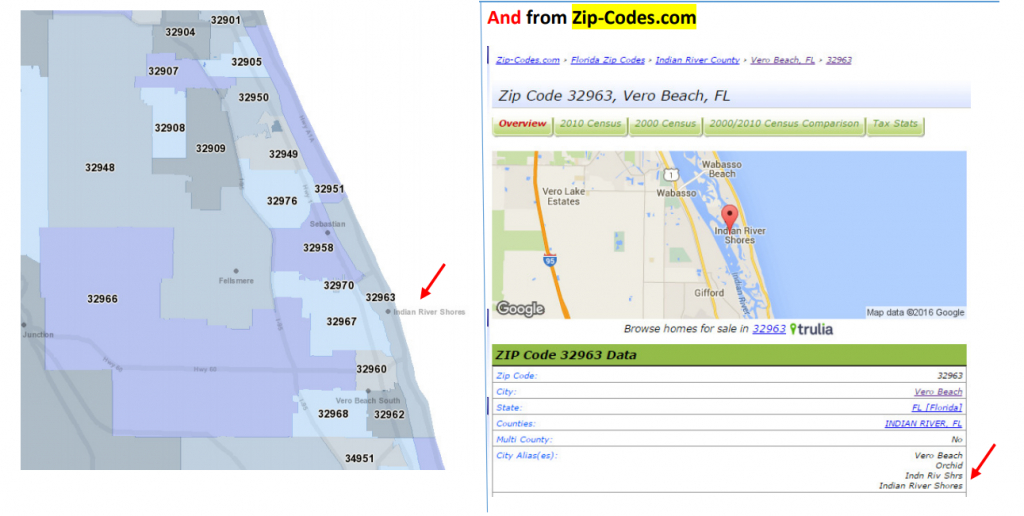 What Zip Code Should Residents Of The Town Of Indian River Shores - Fema Flood Maps Indian River County Florida