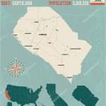 Where Is Claremont California On Map Where Is Santa Ana California   Santa Ana California Map