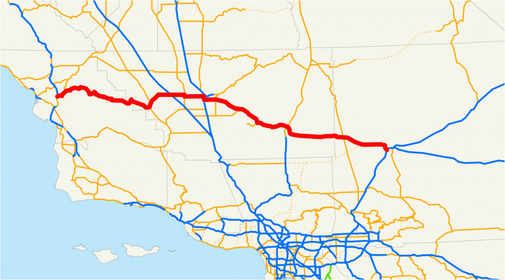 Where Is Oxnard California On The Map California State Route 58 - Oxnard California Map