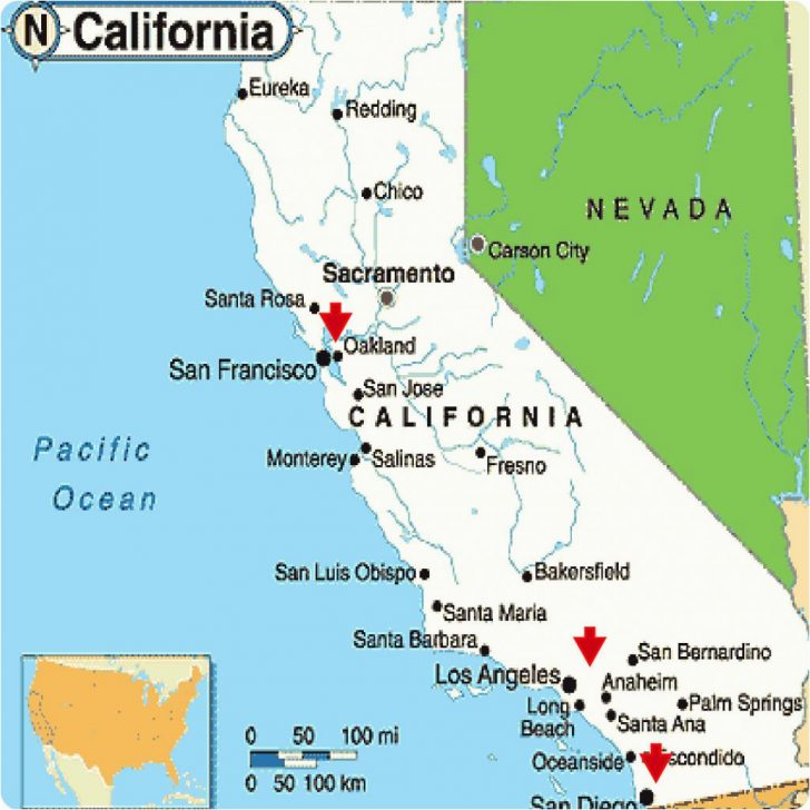 Where Is Palm Desert California Map