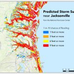 Where Will Hurricane Matthew Cause The Worst Flooding? | Temblor   Florida Flood Map