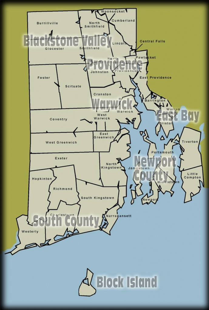 Which U.s. State Has The Longest Name? | Becoming A State | Island - Printable Map Of Providence Ri