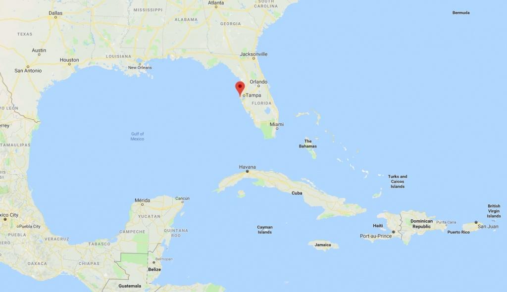 Why Treasure Island, Florida Is So Special? | Treasure Bay Hotel - Treasure Island Florida Map