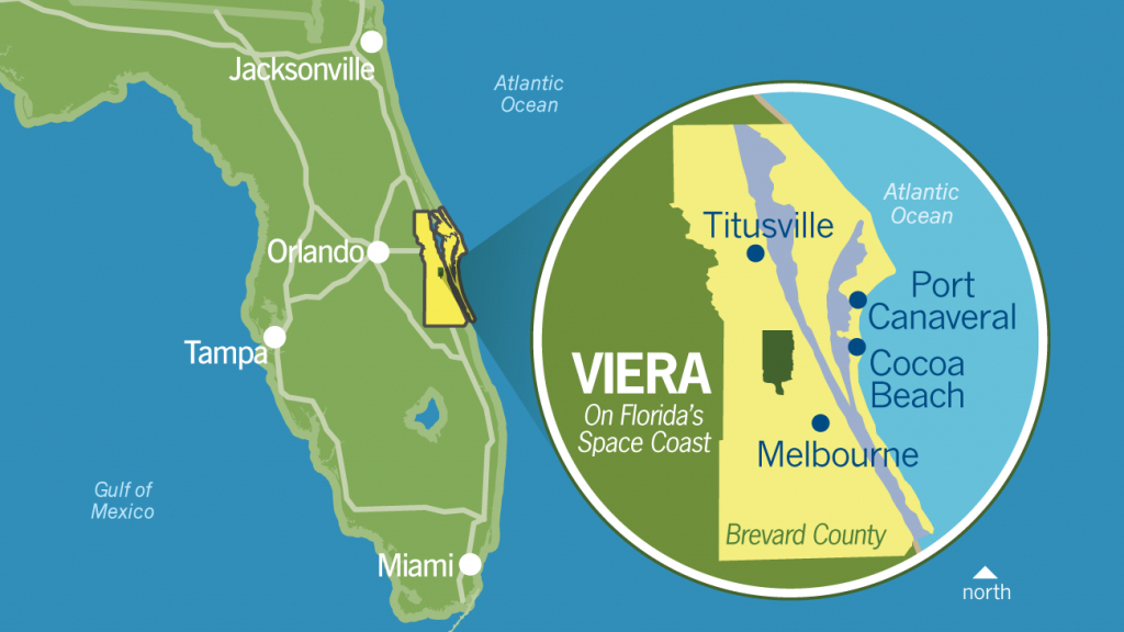 Why Viera - Business Relocation   Investment   Central Florida   Mpc - Florida High Tech Corridor Map