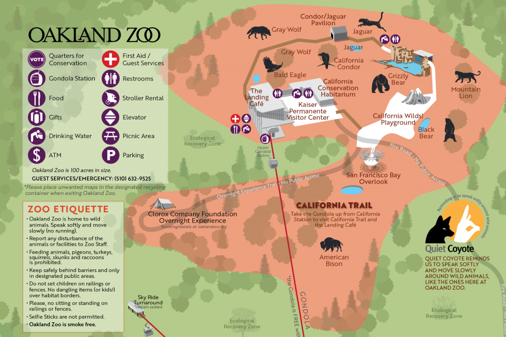 Wild Residents Get Exciting Upgrades At Four Us Zoos - Oakland Zoo California Trail Map