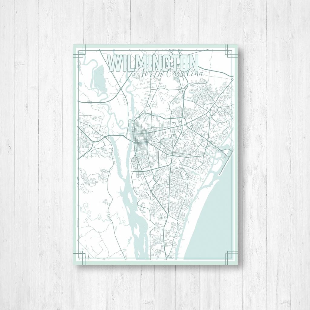 Wilmington North Carolina Street Map, Map Of Wilmington Nc, Map - Printable Map Of Wilmington Nc
