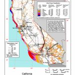 Wind Power In California   Wikipedia   Best Western Locations California Map