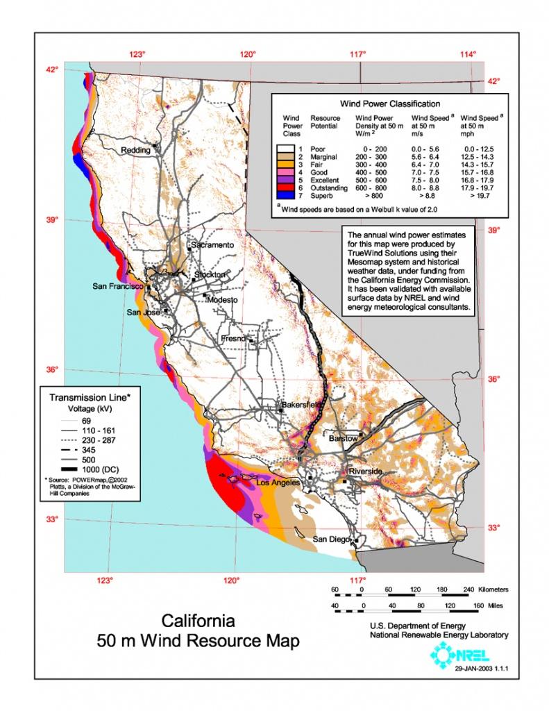 Wind Power In California - Wikipedia - California Electric Utility Map