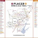 Wine & Ale Trails Of Placer County: Visit Northern California Wine   Auburn California Map