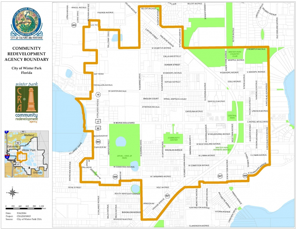 Winter Park Fl Map | Dehazelmuis - Winter Park Florida Map