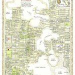 Winter Park, Florida Map 12X16 Print From Original Drawing. $25.00   Winter Park Florida Map