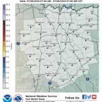 Winter Weather Probabilities   Waco Texas Weather Map