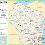 Wisconsin Highway Map   Printable Map Of Wisconsin