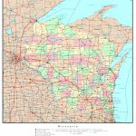 Wisconsin Political Map   Printable Map Of Wisconsin