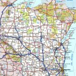 Wisconsin Road Map   Printable Map Of Wisconsin