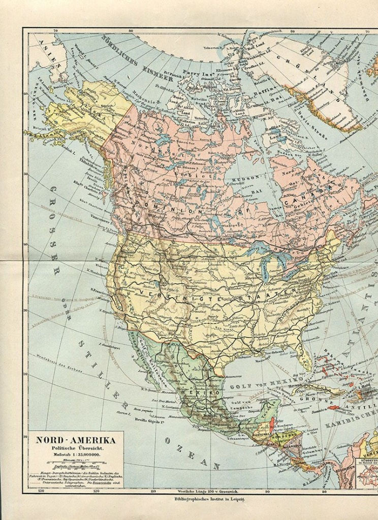 Wonderful Free Printable Vintage Maps To Download | Other | Vintage - Printable Antique Maps