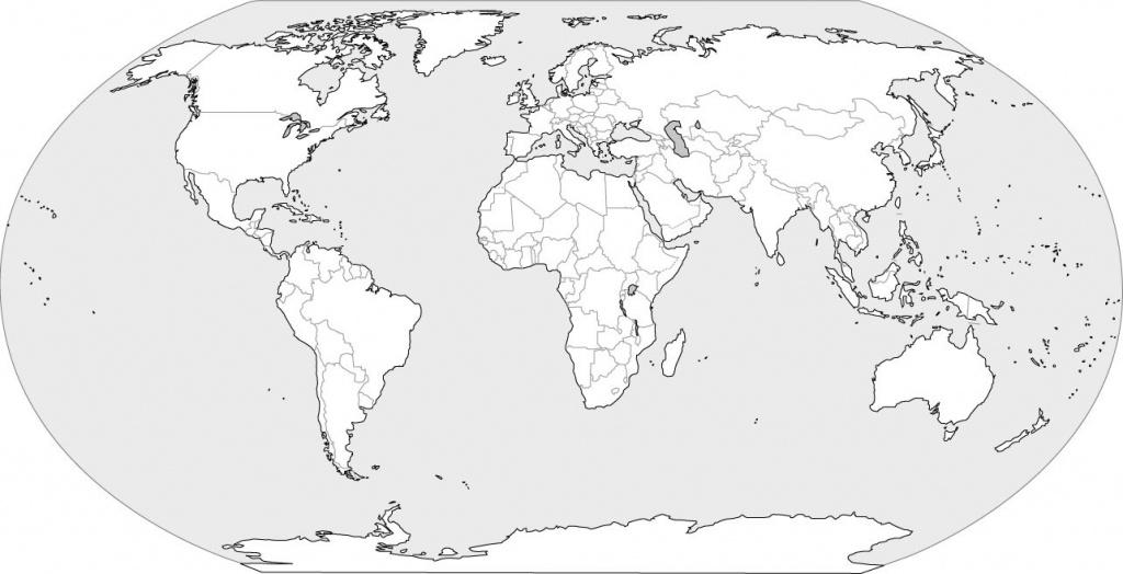 World Map Blank - World Wide Maps - Free Printable Blank World Map