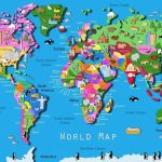 World Map Download Big Size Fresh World Map Kids Printable Valid   Printable World Map For Kids