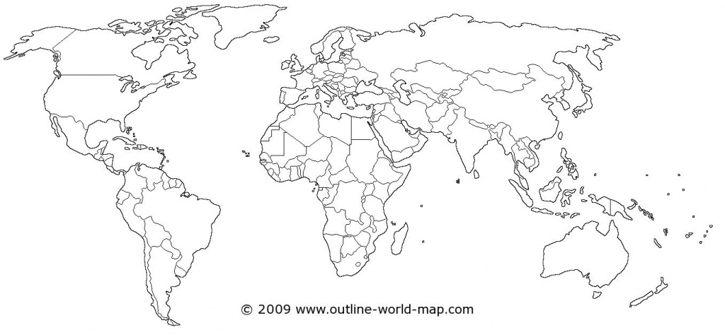 World Map | Dream House! | World Map Coloring Page, Blank World Map - Picture Of Map Of The World Printable