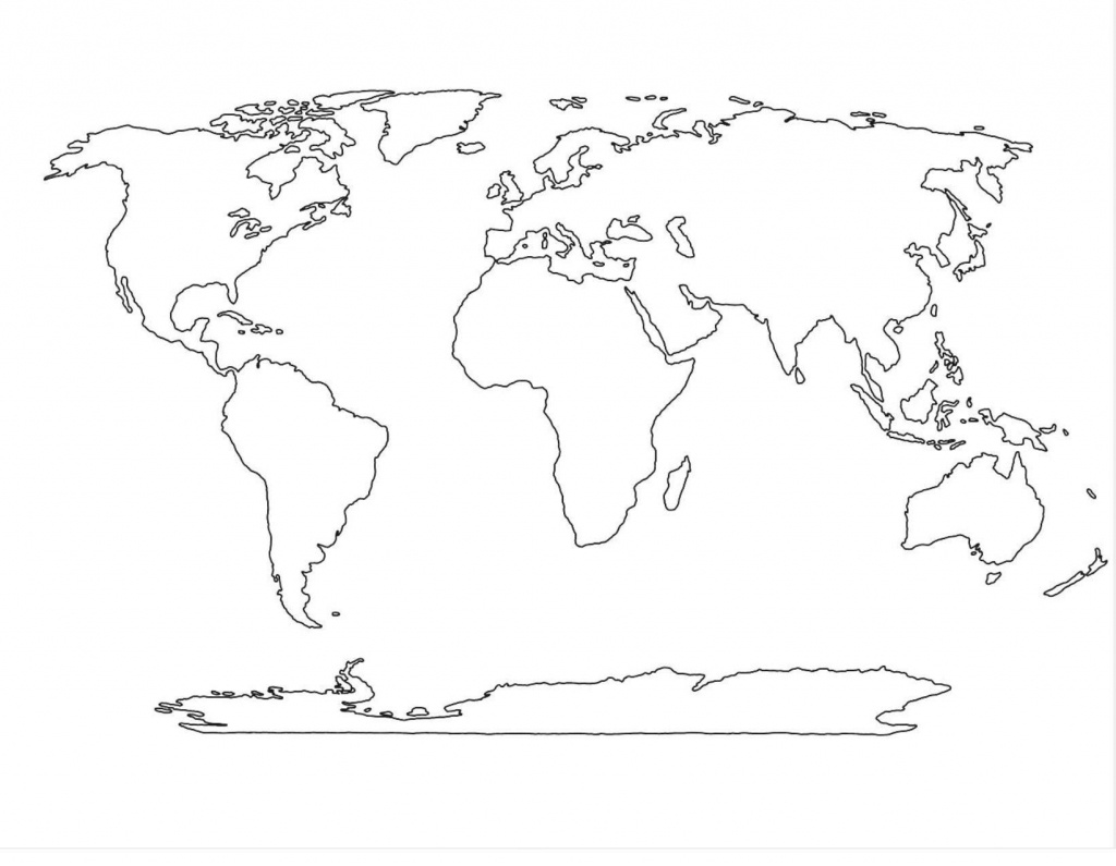 World Map Pdf Printable Best Continents Outline New And | Education - Continents Of The World Map Printable