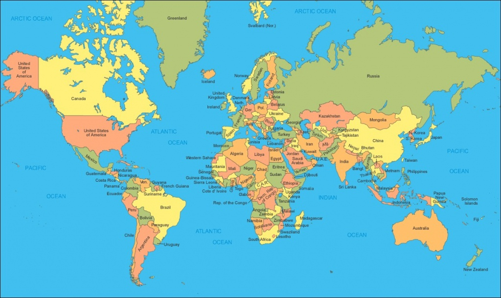 World Map Poster Large Worldwide Maps Collection Free Bookaboat Co - Large Printable World Map