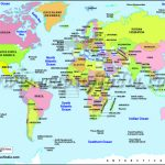 World Map Printable, Printable World Maps In Different Sizes   World Map With Cities Printable